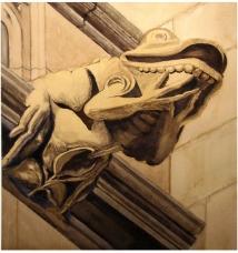 Frog: A Grotesque Gargoyle