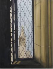 Pinnacle through Tower Window