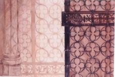 Shadow Patterns, Children's Chapel Gate