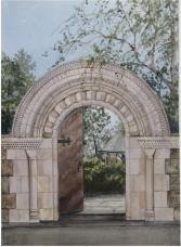 The Bishop's Garden Gate
