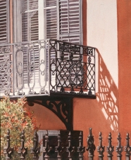 Balcony Shadows, Savannah