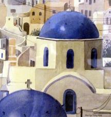Blue Domes, Santorini