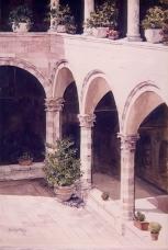 Cloister, Assisi