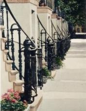 Railings, Gordon Street