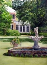 The Cherub Fountain, Summer