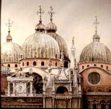 The Domes of St. Mark's